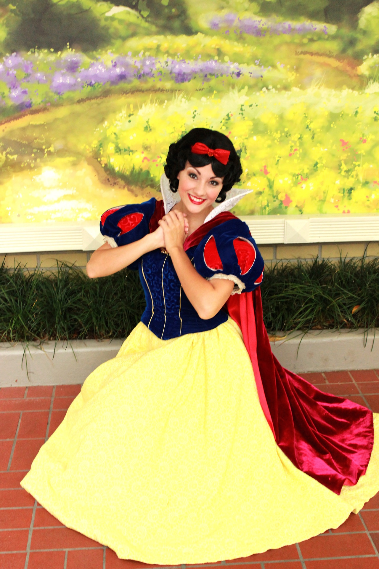 Snow white dress colors for fall