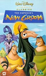 The Emperor's New Groove (2001 UK VHS)