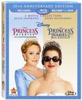 The Princess Diaries 1 and 2 Blu-Ray + DVD