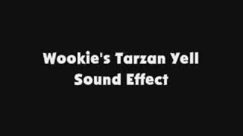 Wookie's Tarzan Yell SFX
