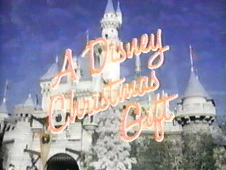 Disney christmas gift 1982