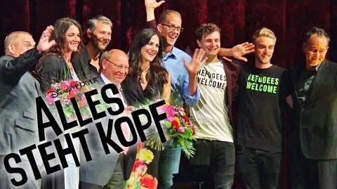 ALLES STEHT KOPF - Deutschlandpremiere in Berlin - Ab 01.10.2015 im Kino Disney HD