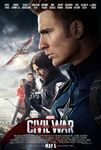 Captain America Civil War - Team Captain America - Poster