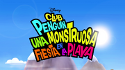 Club Penguin una monstruosa fiesta en la playa