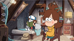 Dipper and mabel with scissors