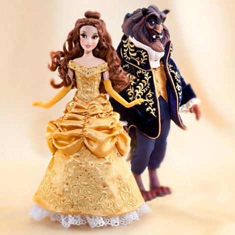 File:Disney Fairytale Designer Collection - Belle and the Beast Dolls.jpg