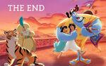Disney Princess Jasmine's Story Illustration 16