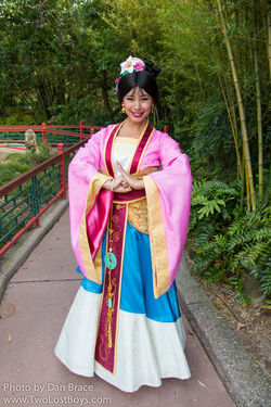 Disney World Mulan