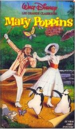 Mary Poppins 1993 France VHS
