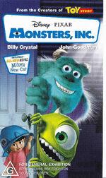 Monsters Inc 2002 AUS VHS