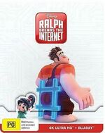 Ralph Breaks the Internet 2019 AUS 4K Ultra HD + Blu Ray Steelbook