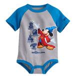Sorcerer Mickey Mouse Bodysuit for Baby gray - Walt Disney World 2017