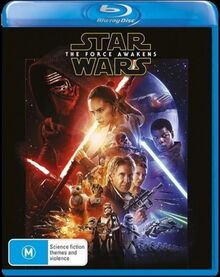 Star Wars The Force Awakens 2016 AUS Blu Ray