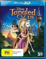Tangled 2013 AUS Blu Ray 3D