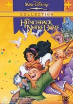 The Hunchback of Notre Dame 2002 Australia DVD