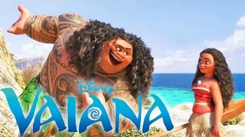 VAIANA Musikvideo Voll Gerne von Andreas Bourani Disney HD