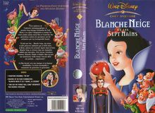 WDHE Blanche Neige Sept Nains Jaquette VHS