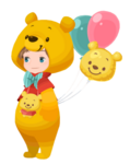 Winnie the Pooh Kingdom Hearts χ