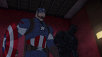 Cap and Panther Secret Wars 07