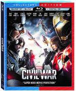 Captain America Civil War - Blu-ray 3D - Collector's Edition