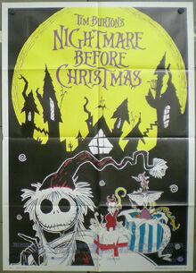 Manifesto di Nightmare Before Christmas