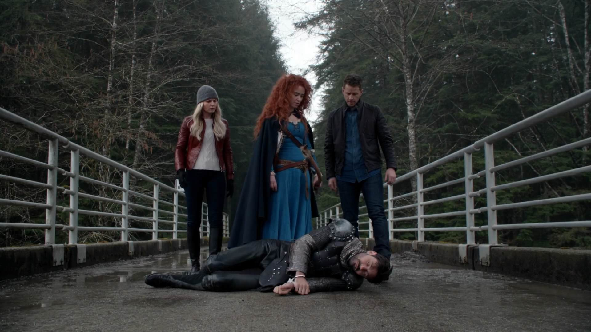Merida With Emma And David Found Arthur Dead