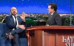 Paul Scheer visits Stephen Colbert