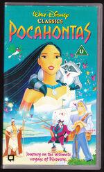 Pocahontas 1996 UK VHS