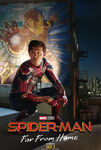 Spider-Man Far From Home - Tony Stark tribute poster