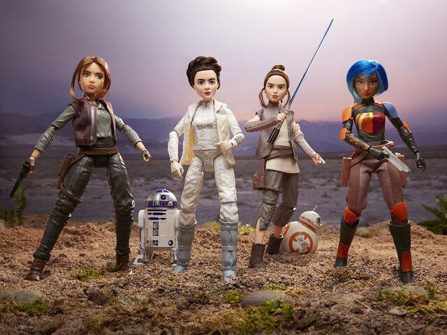 File:Star Wars Forces of Destiny figures 1.jpg