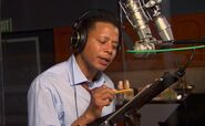 Terrence Howard behind the scenes PatF