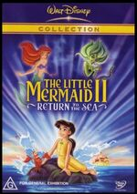 The Little Mermaid II Return to the Sea 2004 AUS DVD