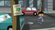 Baljeet has lost perry