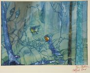 Disney's Catfish Bend - Concept Art - Layout Drawing