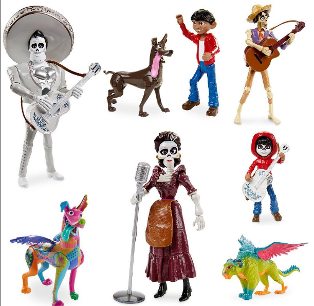 Image - Disney Store Coco figures.png   Disney Wiki ...
