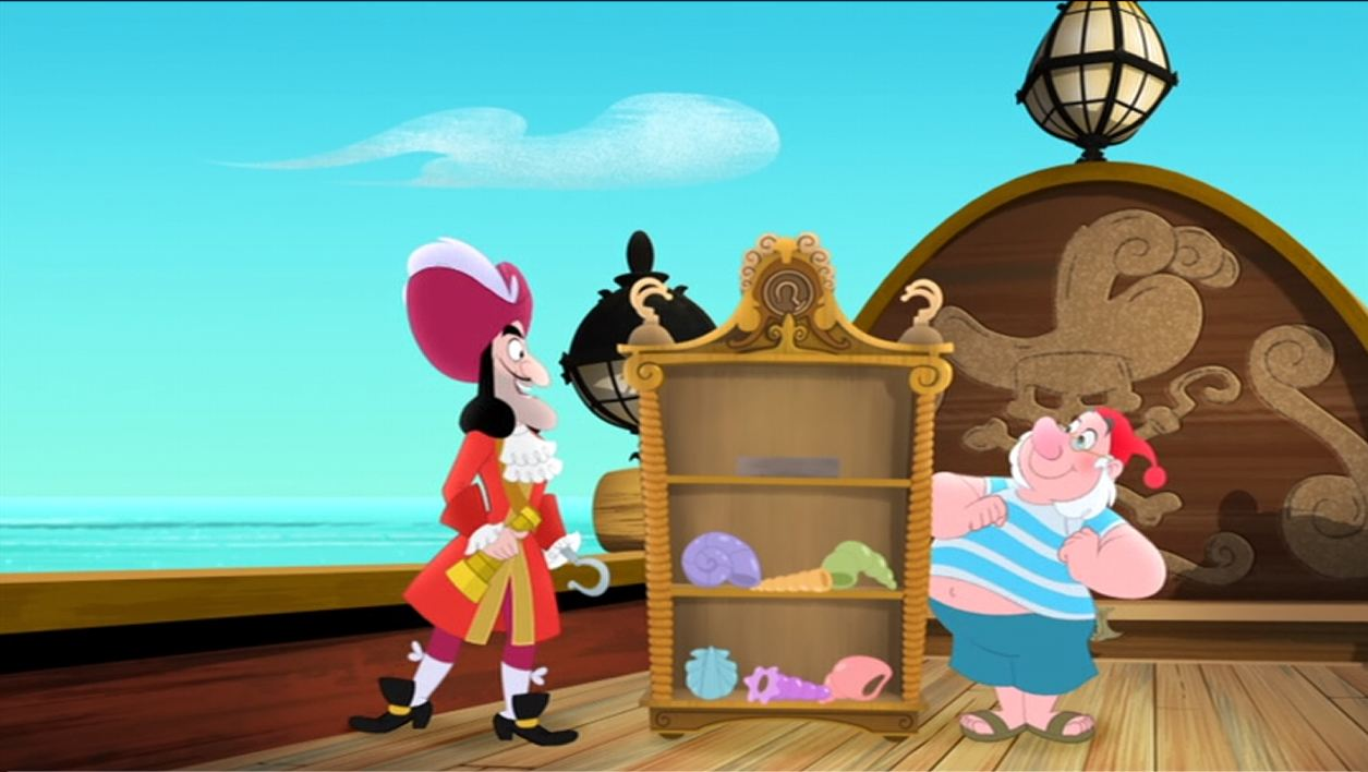 Uncategorized Hook And Smee image hook and smee with the shell collection jpg disney wiki jpg