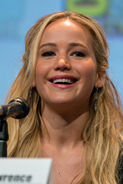 Jennifer Lawrence at San Diego Comic-Con 2015