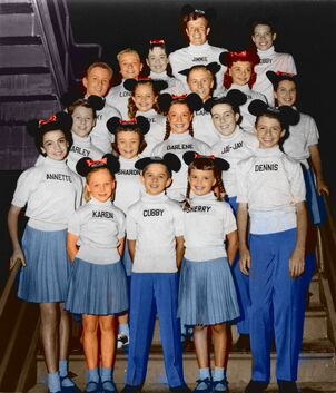 Mickey Mouse Club 1956 color
