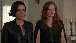 Once Upon a Time - 6x20 - The Song in Your Heart - Regina and Zelena