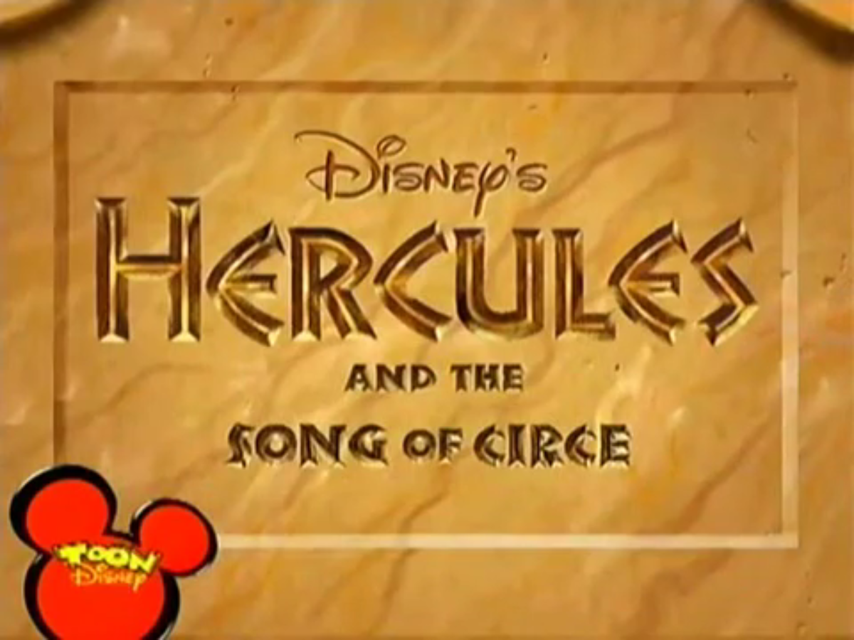 Hercules And The Song Of Circe Disney Wiki Fandom