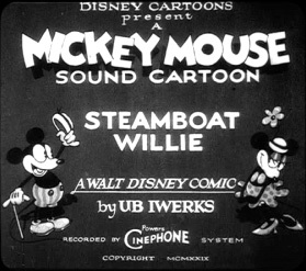 Image result for walt disney's steamboat willie
