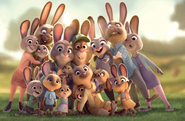 Zootopia Hopps Family photo
