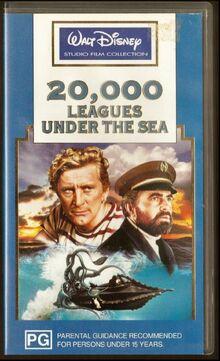 20,000 Leagues Under the Sea 1994 AUS VHS