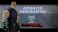 Advanced Showboating Hawkeye