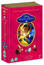 Beauty and the Beast Book UK DVD