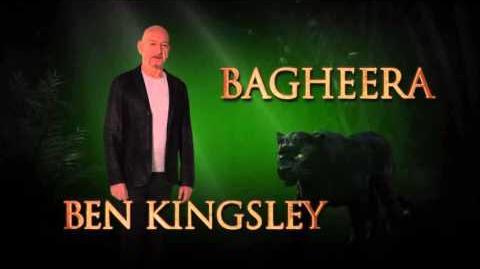 Ben Kingsley is Bagheera - Disney's The Jungle Book