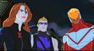 Black Widow Hawkeye Falcon AUR 3