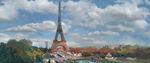 Cars 2- Eiffel Tower concept art