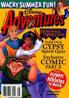 Disney Adventures Magazine cover August 1996 Hunchback Notre Dame Jennifer Elise Cox