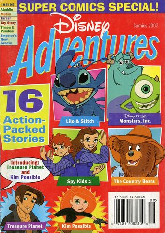 File:Disney Adventures Magazine cover Comics 2002.jpg